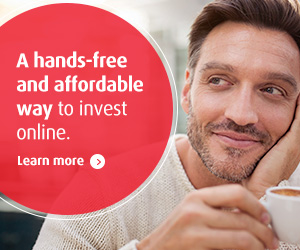 A hands-free and affordable way to invest online. Learn more.